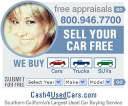 Cash4usedcars.com ad