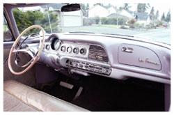Dodge La Femme, pink dashboard