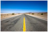 A desert roadway