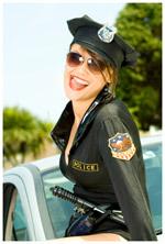 A female cop