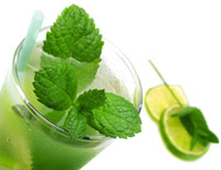 A Mojito with lime