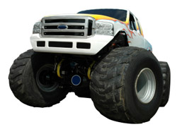 Huge Monster Truck