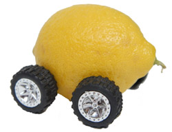 A lemon on wheels